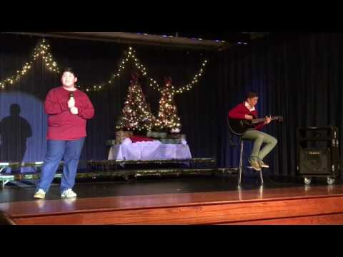 Miguel's 8th grade Christmas Choir Performance