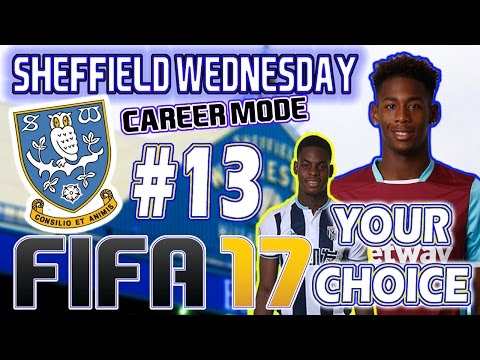 fifa-17---sheffield-wednesday-career-mode-#13---transfer-window-open,-you-choose-our-next-signing!