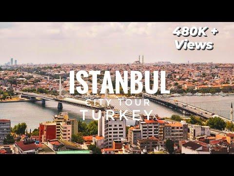 ISTANBUL City Street Tour - Turkey 2020