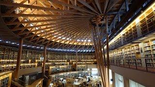 探訪 木々に抱かれ勉学に励む 秋田市 国際教養大学の中嶋記念図書館 MP3