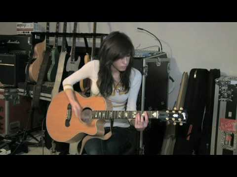 "Kate Voegele Teaches ""99 Times"" On The Guitar"