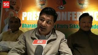 Gambar cover BJP State President, D. B Chauhan speaks with Sikkim Chronicle