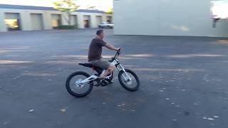 Sur-ron test bike first ride