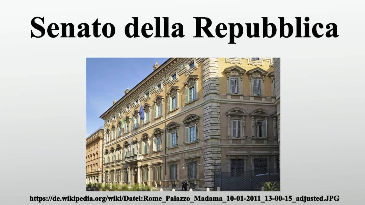 Senato Della Repubblica Youtube