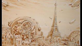 Ароматный мир кофейного рисования! Урок творчества от Юлии Гречухиной