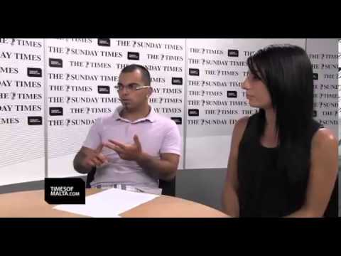 Deaf People Association (Malta) - Times of Malta Interview (click 'cc' for subtitles)