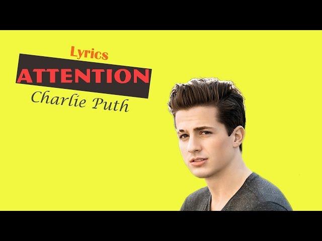 Charlie Puth - Attention (Karaoke)