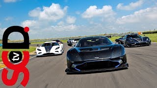 Highlights from the annual Supercar Days track day at Anglesey, a c...