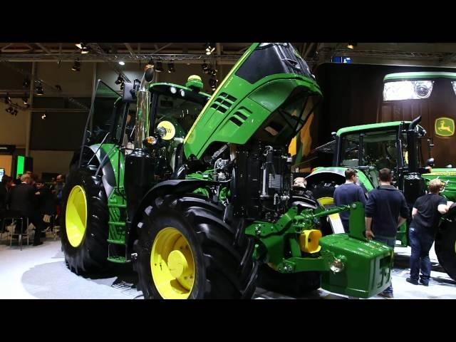 John Deere Tractors at AGRITECHNICA