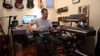 Aguilar PJ pickups in a Fender Custom Shop Bass Comparison Video