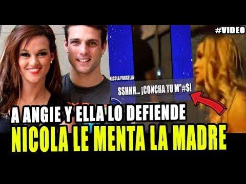NICOLA PORCELLA Y ANGIE ARIZAGA NO QUIEREN ACEPTAR LO QUE PASÓ EN EL VIDEO