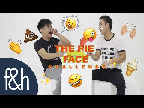 Khalil Ramos and Kenzo Gutierrez Plays The F&H PIE FACE Challenge   Folded and Hung