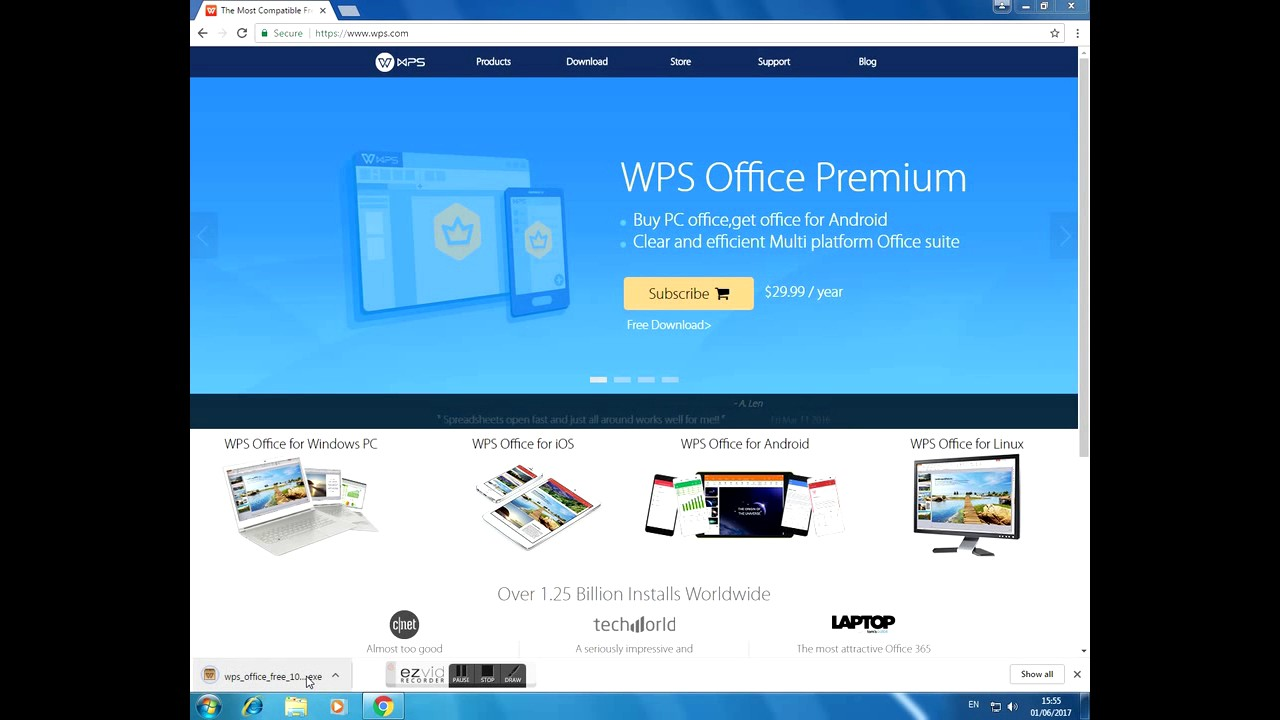 How to WPS Office Install Win 7