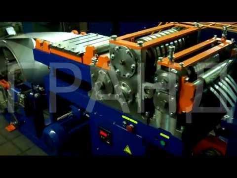 видео: Станок продольной резки рулонной ленты на полосы