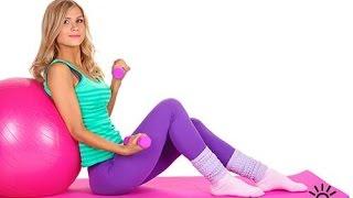 Комплекс упражнений для похудения дома(Комплекс упражнений для похудения дома -это эффективные фитнес упражнения,направленные на проработку..., 2015-05-19T10:23:27.000Z)