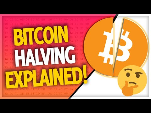 Bitcoin Halving 2020 Explained!! (WHAT YOU NEED TO KNOW) $BTC