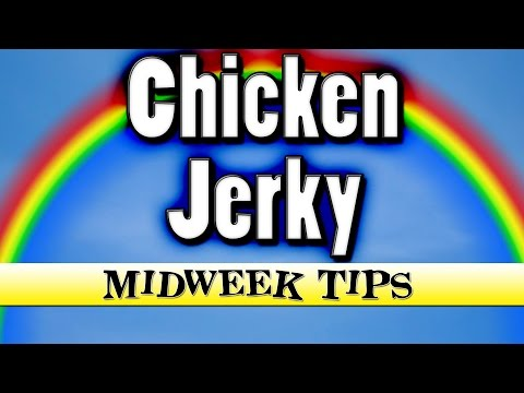 How To Make Chicken Jerky