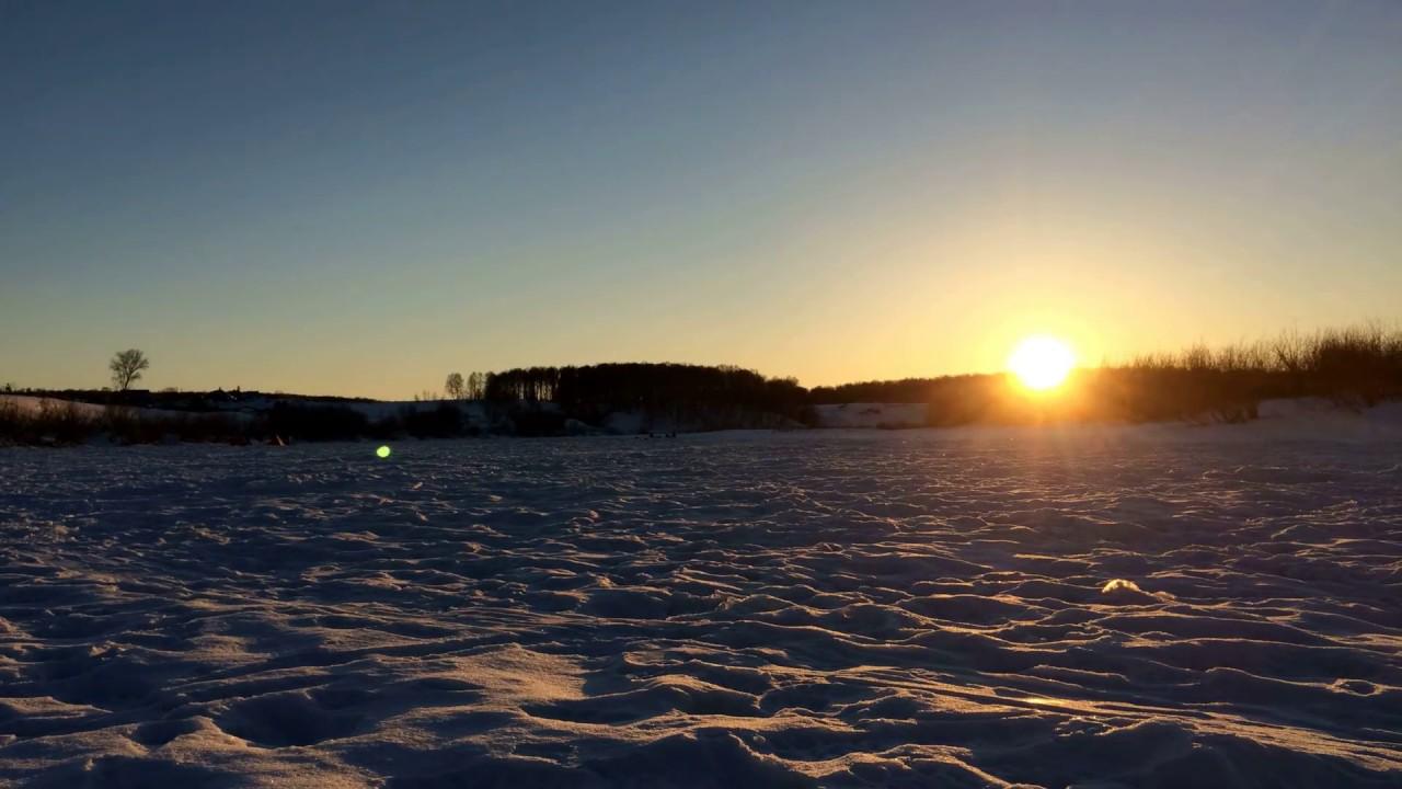 Закат в Сибири. Sunset in Siberia - YouTube