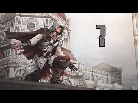 Birth Of Ezio & Teen Ezio Fighting Vieri De' Pazzi's Men - Assassin's Creed 2 - Part 1