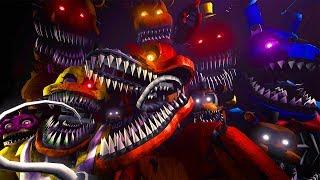 FNAF 4 в 3D ★ ВЫЖИТЬ в ДОМЕ С ТОЛПОЙ КОШМАРНЫХ АНИМАТРОНИКОВ !!!