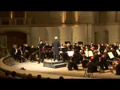 Tchaikovsky Violin Concerto  Maxim Fedotov 07.02.2013 Moscow Philharmonic Orchestra