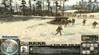 Company of Heroes 2 [Open Beta] - Хроника онлайн боёв №0 - 2\2 - СССР (тест)