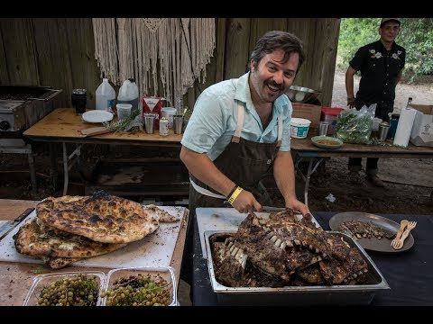 Curation Series S01E06 feat. Chefs Doug Adams & Tommy Habetz with Billy Strings @Pickathon 2017