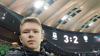 """На последнем матче в этом сезоне: Фк""""Краснодар""""-Фк""""Ахмат"""""""