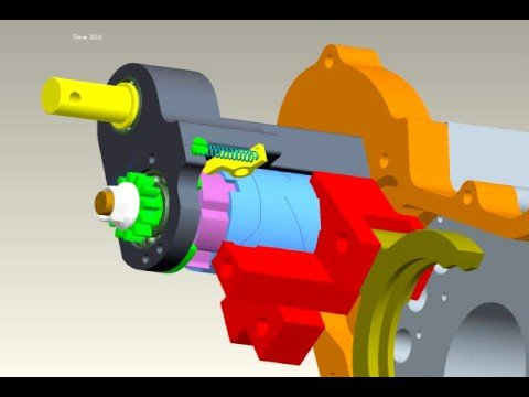 Pro/ENGINEER Mechanism Dynamics SIMULATION