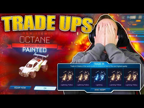 Hundreds of very rares to trade up and this is how Rocket League ends it... thumbnail