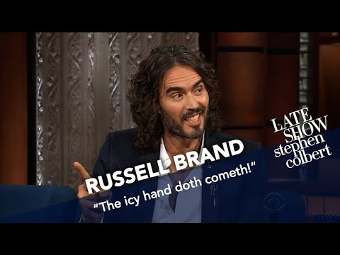 Russell Brand Puts His Spin On The 12Step Program