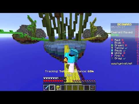 Minecraft Bedwars - KNOCKBACKPINNEN ÄR BAE
