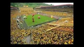 Amarillo es mi color - Barcelona s.c. con letra