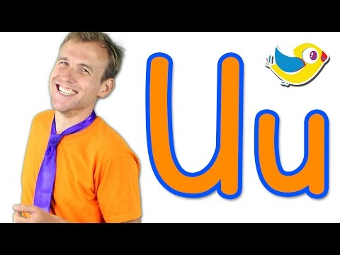 The Letter U Song - Learn the Alphabet