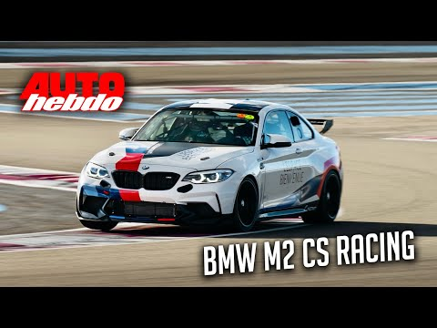 TEST DRIVE : BMW M2 CS Racing