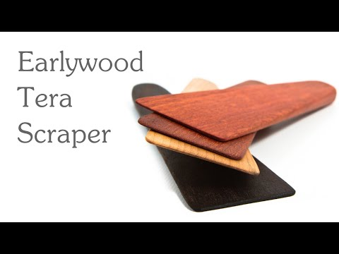 Holiday Gift Guide: Earlywood Tera Scrapers Wooden Utensils Make Holiday Cleanup Simple and Fun