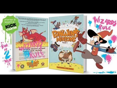 Binwin's Minions Volume 1 - Watercolor Wizard