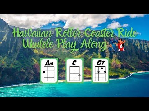 Download Lilo & Stitch Hawaiian Roller Coaster Ride Ukulele Play Along [Simplified]