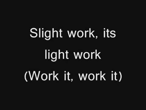 wale ft big sean - slight work - lyrics