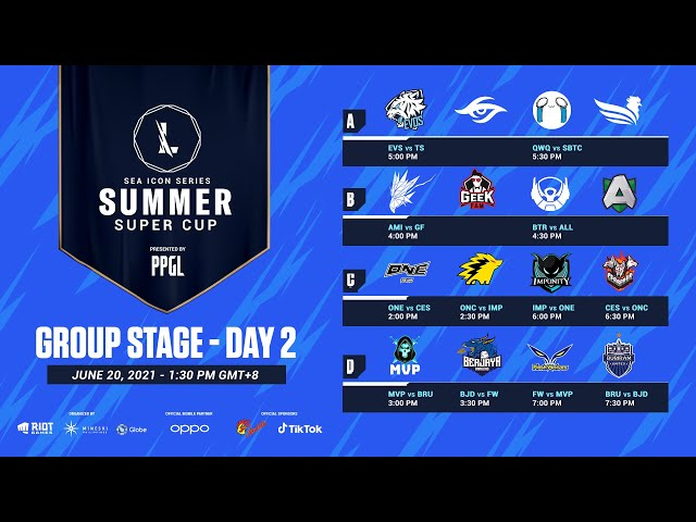 2021 Wild Rift: SEA Icon Series - Summer Super Cup - Group Stage Day 2
