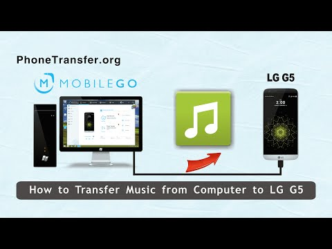 How to Transfer Music from Computer to LG G5, Export Songs to LG G5 from PC