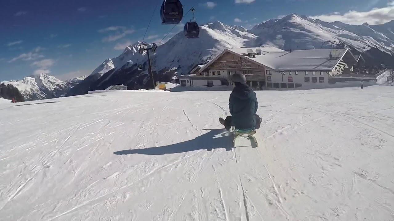 Rodelen In St Anton Am Arlberg Oostenrijk Youtube