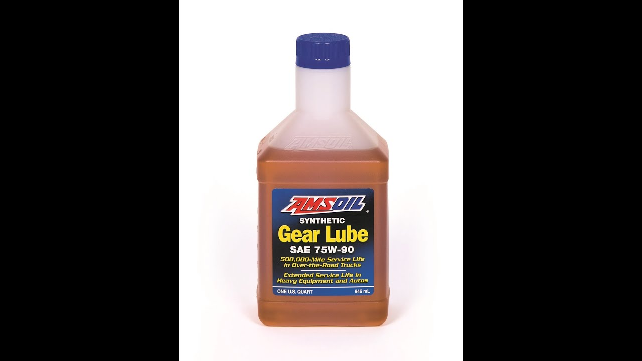 Amsoil Severe Gear 75w 90 >> Amsoil Fgr Sae 75w 90 Synthetic Gear Lubricant Youtube