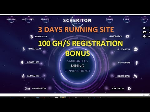 Scheriton Bitcoin Dogecoin Litecoin Dashcoin US Dollars Cloud Mining Site-100 GH/S Free hash power from YouTube · Duration:  7 minutes 42 seconds  · 50 views · uploaded on 26/08/2017 · uploaded by How to Make Money!