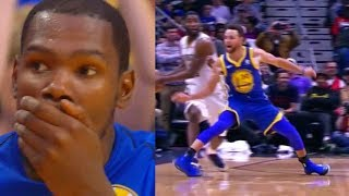 Kevin Durant Leaves Warriors After Stephen Curry Injury! - Parody