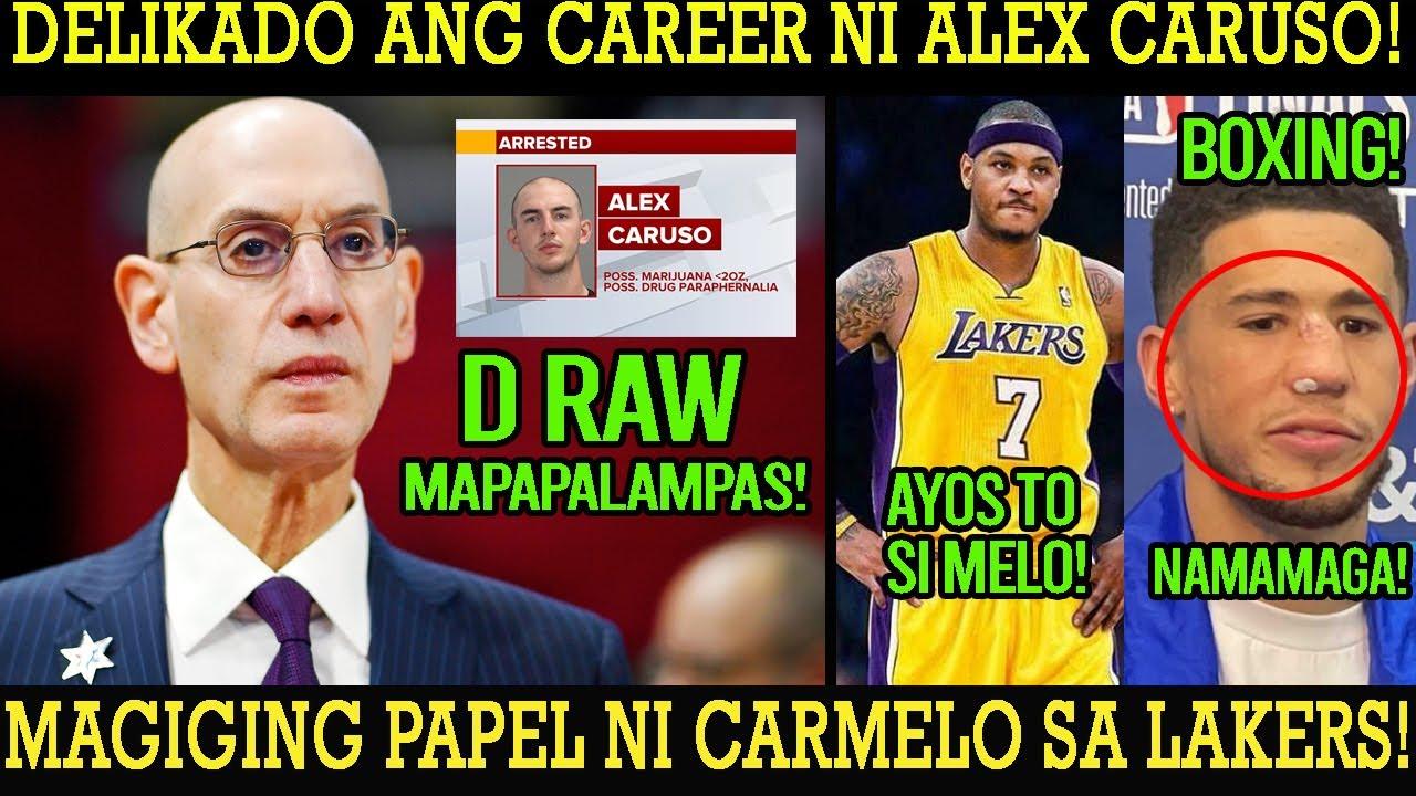 LAGOT SI CARUSO HINDI MAPAPALAMPAS NG NBA ANG GINAWA! CARMELO ANO ANG MAGIGING PAPEL SA LAKER?