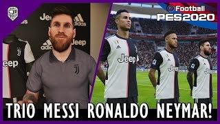 PES 2020 Master League Indonesia: Juventus Coba Datangkan Lionel Messi & Neymar Júnior