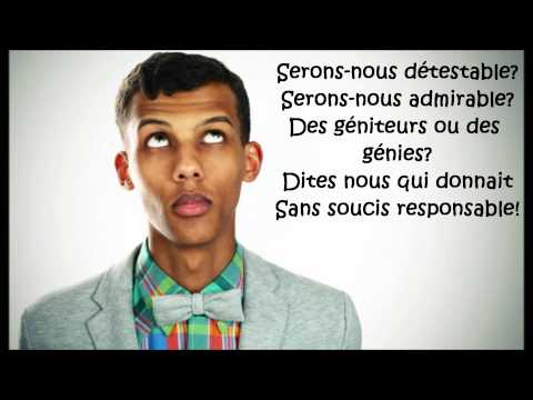 Stromae - papoutai (Lyrics)