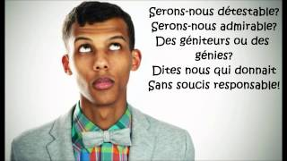Download Stromae - papoutai (Lyrics) Mp3 and Videos