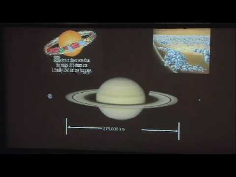 Cassini's Roadmap to Saturn: An Evening with the Scientists (Lecture)